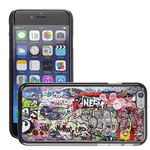 "Premio Sottile Slim Cassa Custodia Case Cover Shell // V00002333 graffiti Ville // Apple iPhone 6 6S 6G 4.7"""