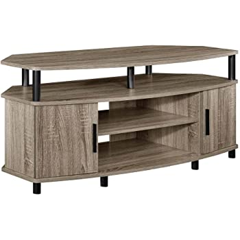 Amazon Com Ameriwood Home Carson Corner Tv Stand For Tvs