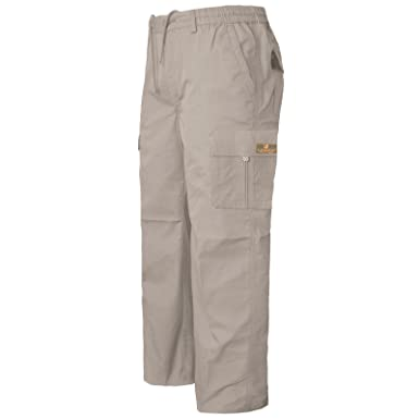 3a882bfca474 New Mens Cargo Combat Elasticated Waist Trousers Pants Work Casual Rugby  Bottoms  Amazon.co.uk  Clothing