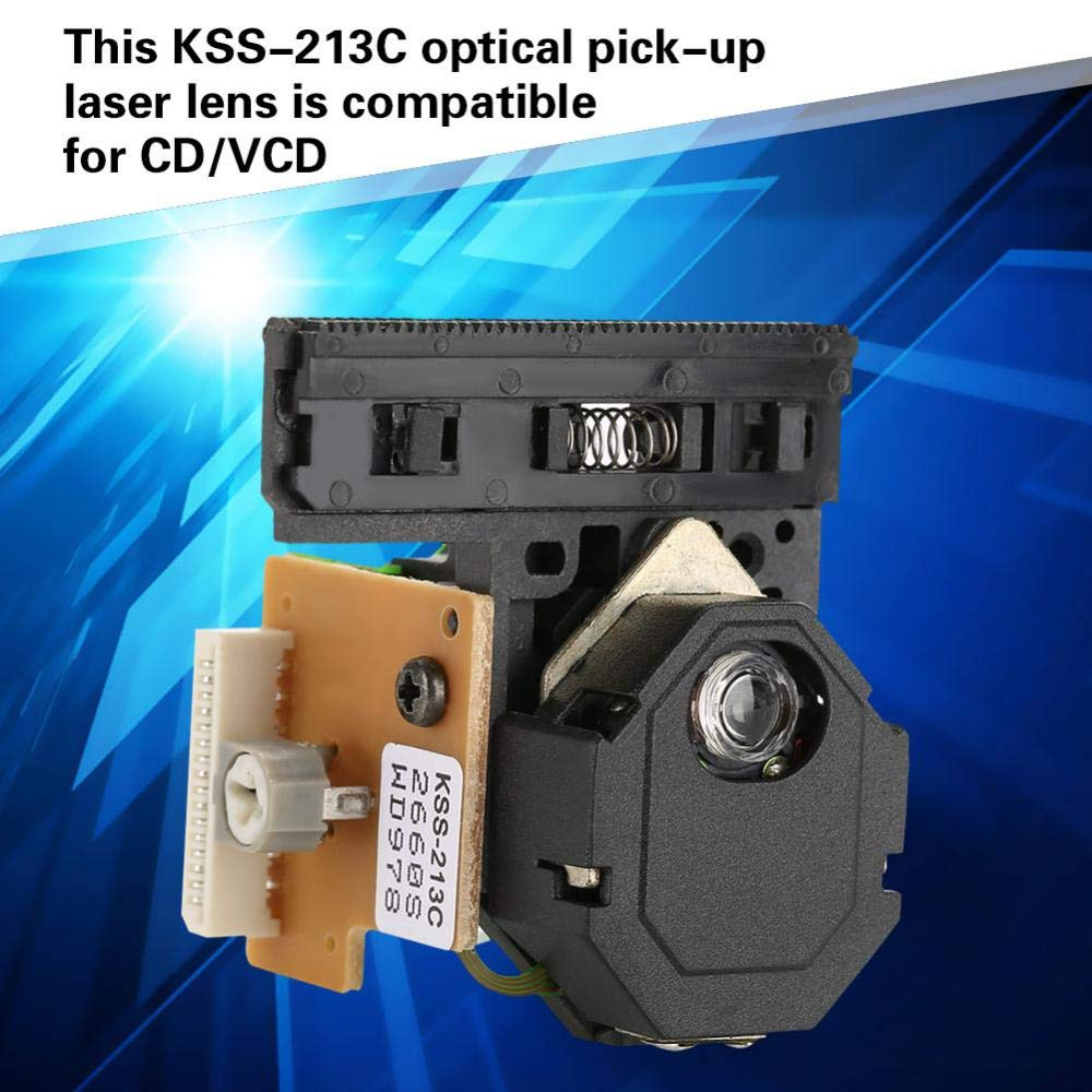 Optical Pick-Up Laser Lens Mechanism, Walfront KSS-213C Optical Pick-Up Laser Lens Mechanism Optical Drive Replacement Parts Compatible For CD/VCD by Wal front (Image #4)