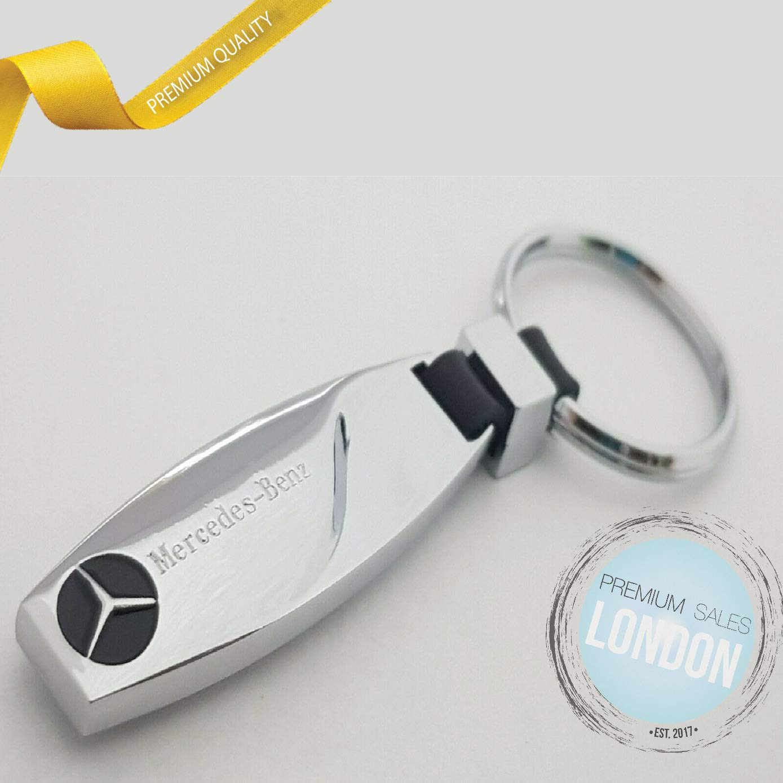 PSL LTD Porte-cl/és en m/étal avec Logo Mercedez Benz