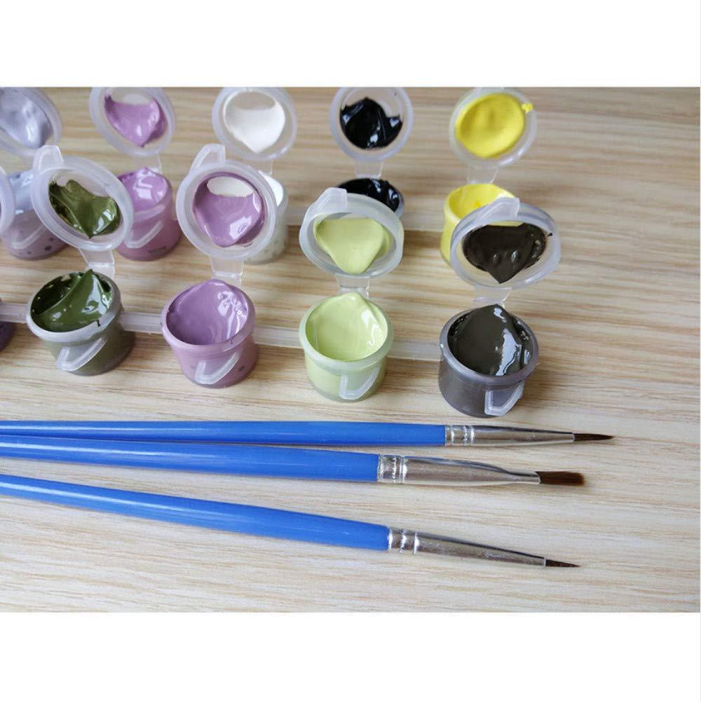 Malen nach nach nach Zahlen malen nach Zahlen für wohnkultur Bild ölgemälde leinwand malerei rom Stil 50x65cm B07NVPG9HD | Produktqualität  fb7370