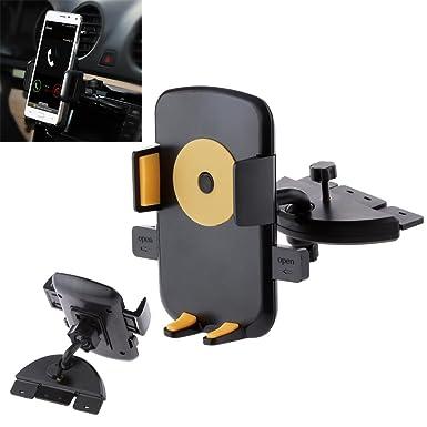 Imán para coche CD ranura soporte, baycheer vehículo Universal soporte magnético de coche para soporte