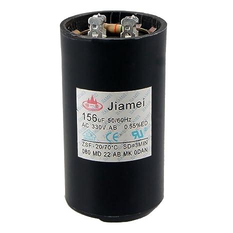 Compresor de aire acondicionado de condensador de Motor Start 50/60 hz 156 uf AC 330 V: Amazon.es: Industria, empresas y ciencia