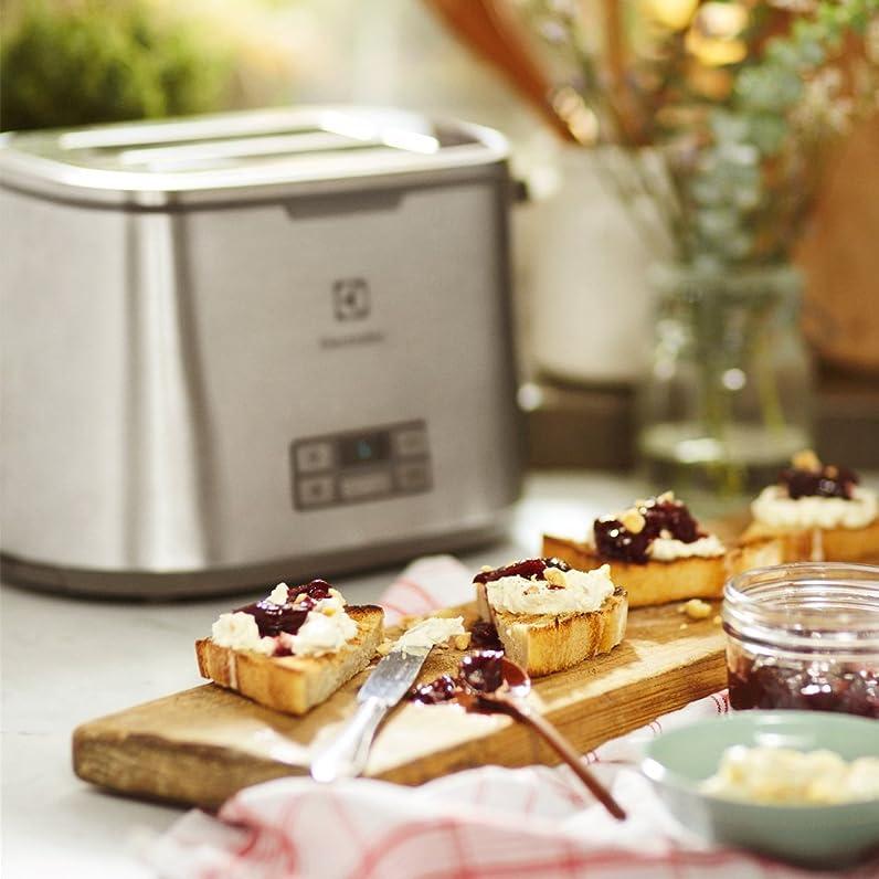 Electrolux EAT7800 grille pain, couleur argent: Amazon.fr: Cuisine ...