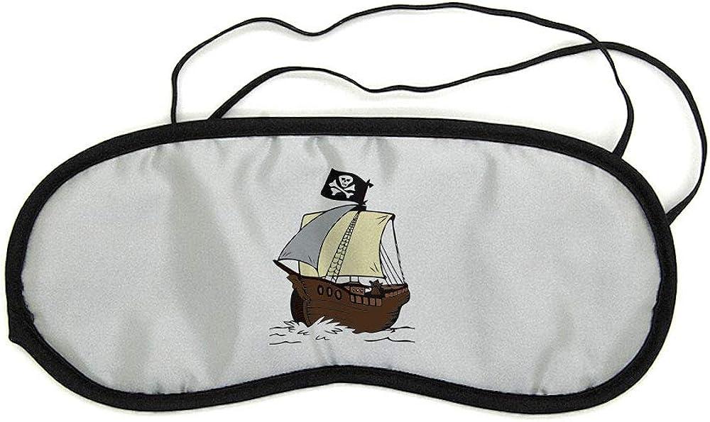 Mygoodprice Masque de nuit pour repos voyage et sommeil bateau de pirate 2