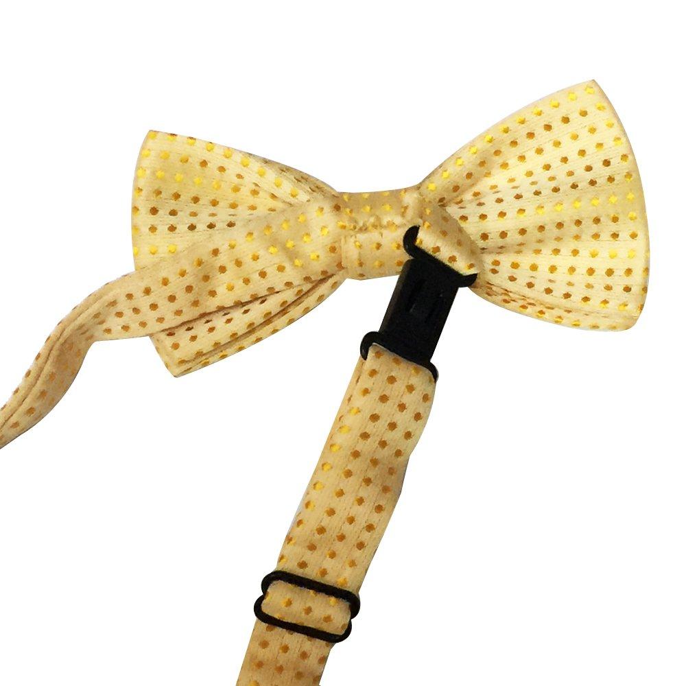 FASINUO Boys Girls Children Kids Polka Dots Satin Bow Ties//Bowties