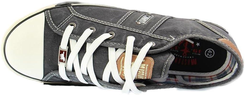 Mustang 1099 302 55, Chaussons Sneaker Femme Noir 9 Schwarz