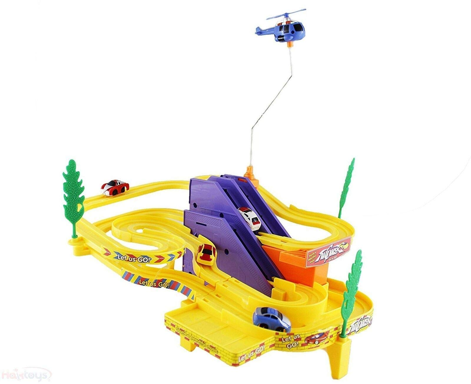Lonestar Wholesalers Track Racer Set with Music - Building Toy for Toddlers Kids by Lonestar Wholesalers