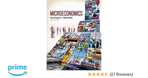 Microeconomics paul krugman 9781464143878 amazon books fandeluxe Gallery