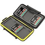 JJC–Custodia per schede di memoria (resistente all' acqua) per–6x CompactFlash