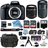 Canon EOS Rebel T7i Bundle With EF-S 18-55mm IS STM & EF-S 55-250mm IS STM Lens + Canon T7i Camera Advanced DigitalAndMore Accessory Kit - Including EVERYTHING You Need To Get Started