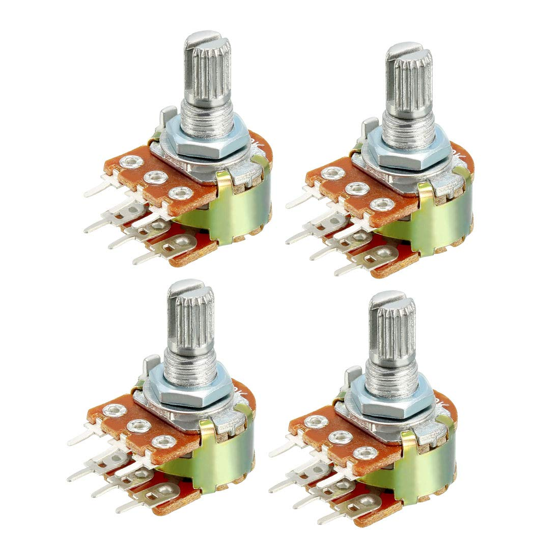 uxcell WH148 1K Ohm Variable Resistors Dual Turn