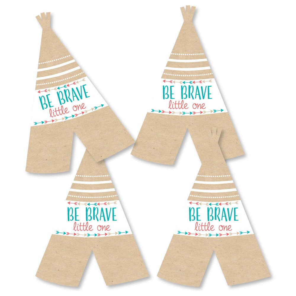 Amazon.com  Be Brave Little One - Teepee Decorations DIY Boho Tribal Baby  Shower or Birthday Party Essentials - Set of 20  Health   Personal Care 84f8f8f73017
