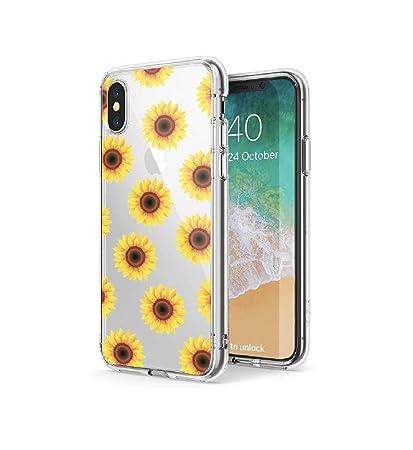 iphone xs case clear design