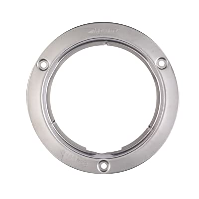 """Maxxima M43253 4"""" Round Stainless Steel Security Flange: Automotive"""