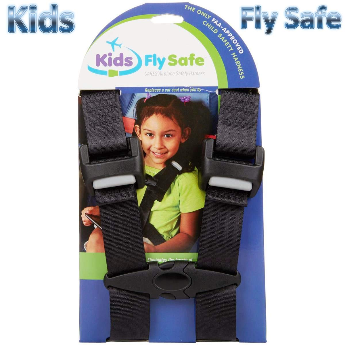 Child Safety Harness Airplane Travel Clip Strap.The Travel Harness Safety System Will Protect Your Child from Dangerous.Had Passed FAA Approved. (Amazon Certification)