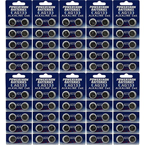 AG13 LR44 357 L1154 A76 Alkaline BATTERY QTY 100 - 10 Packs of 10