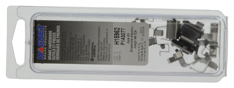 Wagner H15962 Disc Brake Hardware Kit Rear