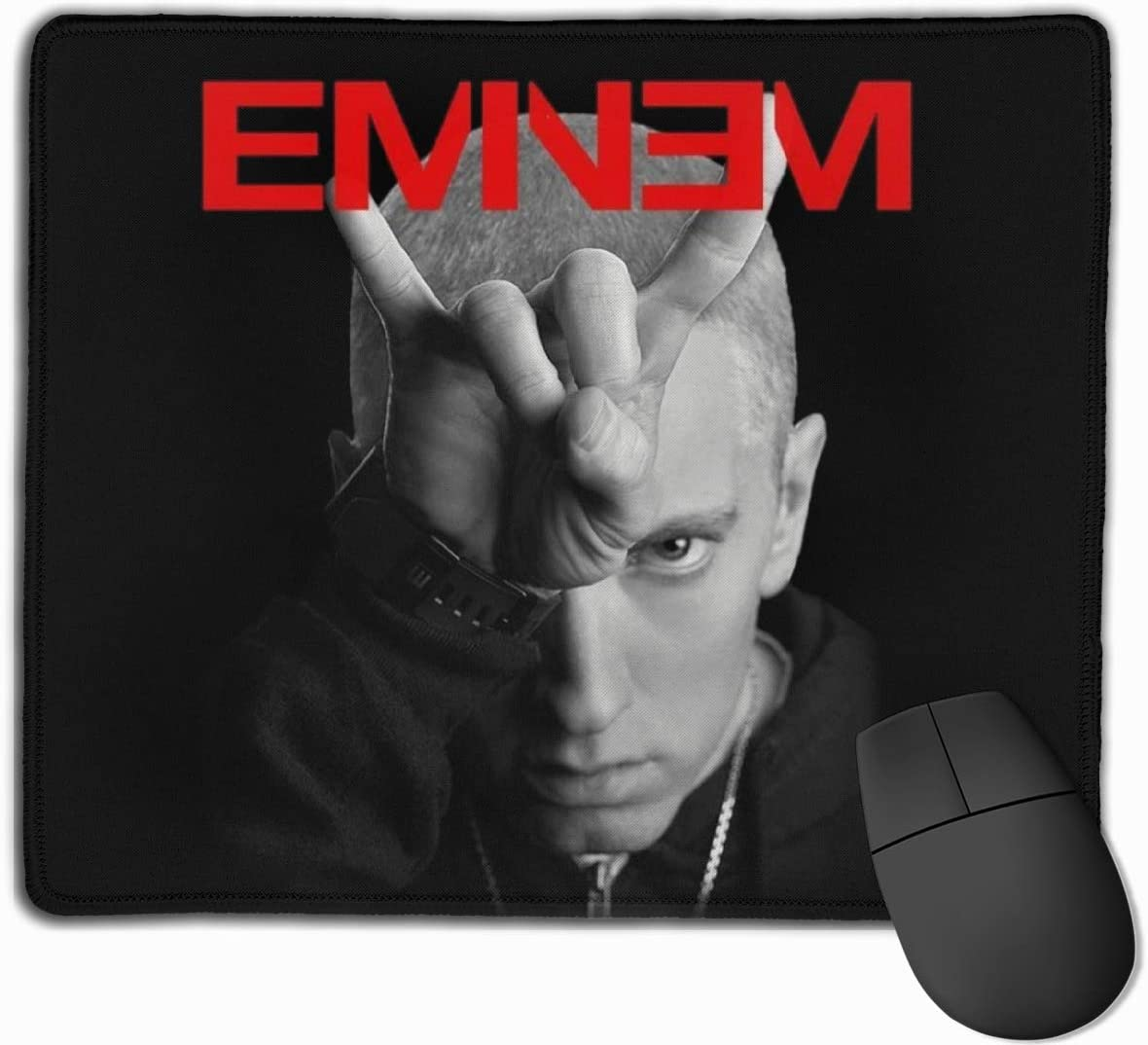 Eminem Computer Mouse Pad Laptop Computer Small Anti Slip Mouse Mat for Office//Gaming//Home
