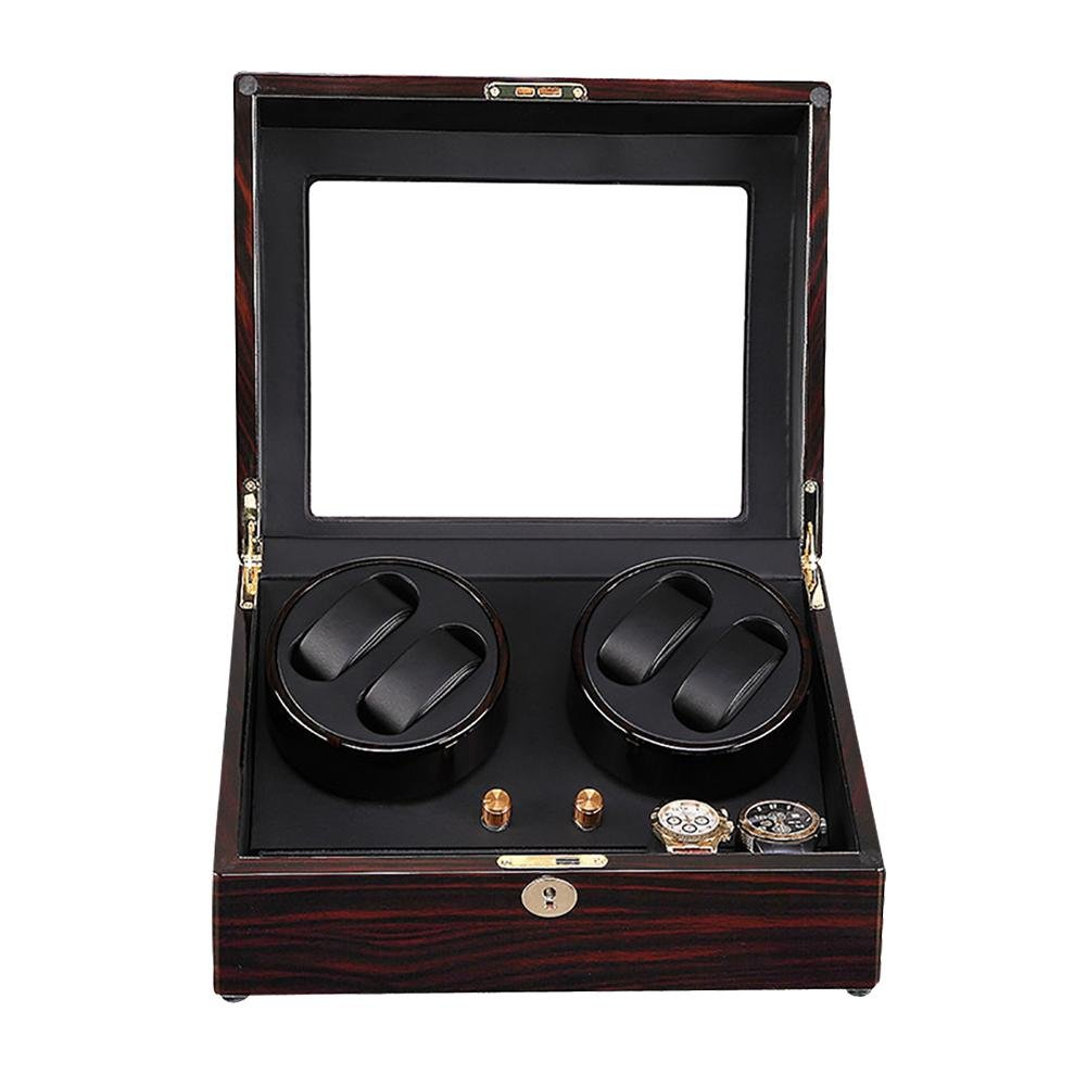Watch Winders for automatic watches Winder storages box Display Box Case (4+6) Quiet Mabuchi Motors C , # 2