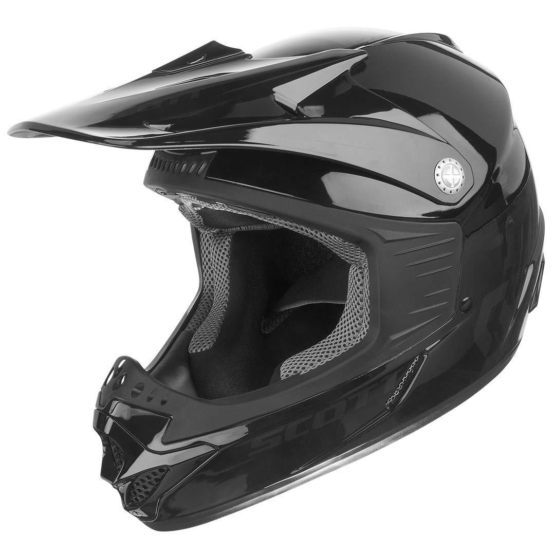Scott 350 Pro Niños MX Enduro Moto/Bike Casco Negro 2016: Tamaño: S (48 – 49)
