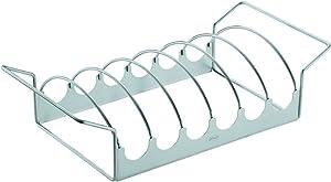 Rösle Stainless Steel 17-inch Large Barbeque Rib/Roast Rack