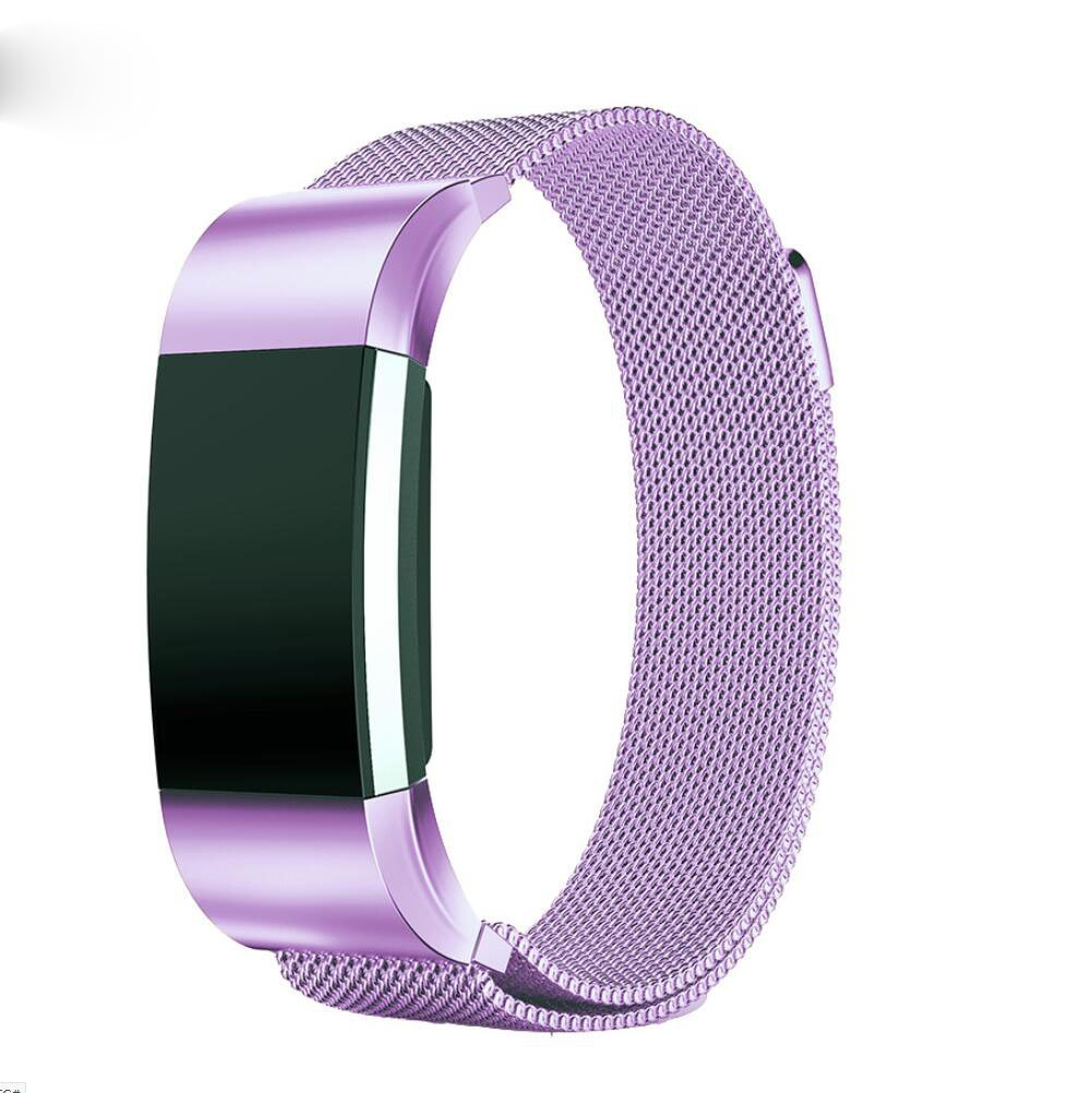 PEZAX Replacement Band for Fitbit Charge 2 - lila