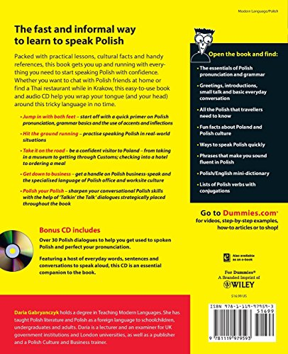 Polish For Dummies - Import It All