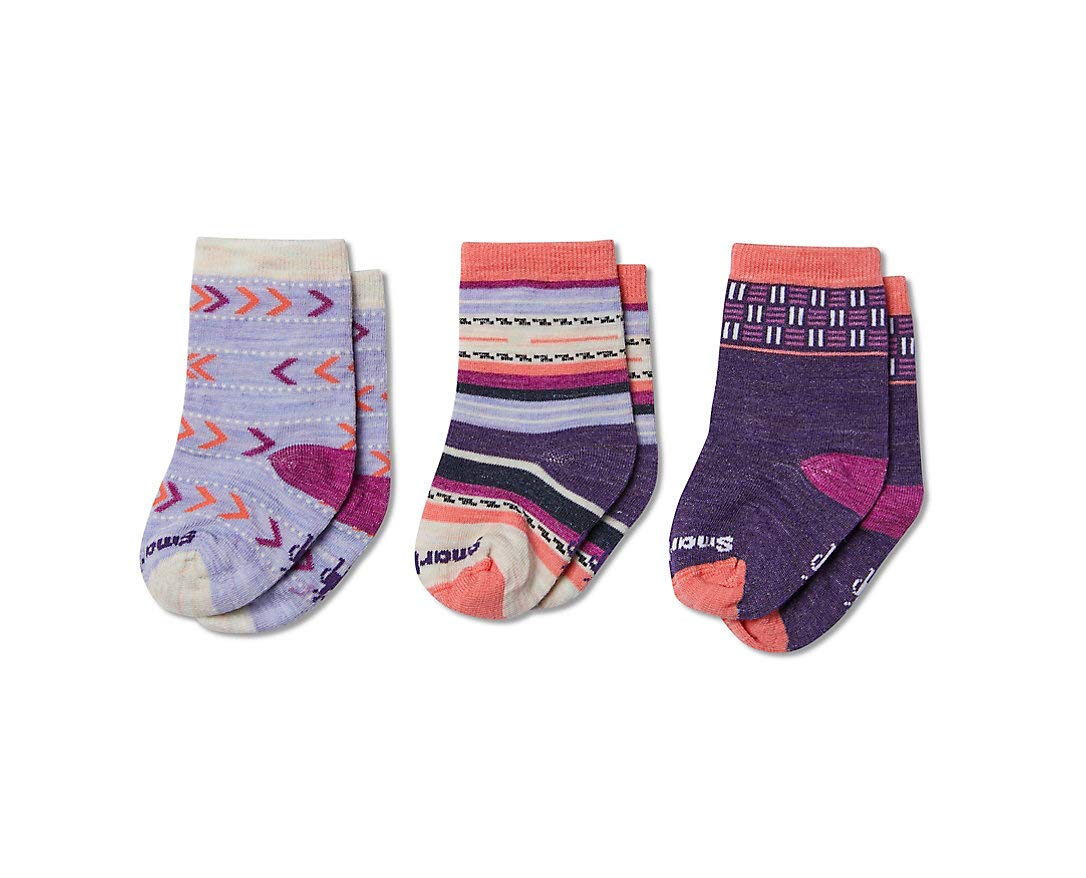 Smartwool PhD Outdoor Light Bootie Socks - Toddler Trio Wool Performance Sock by Smartwool