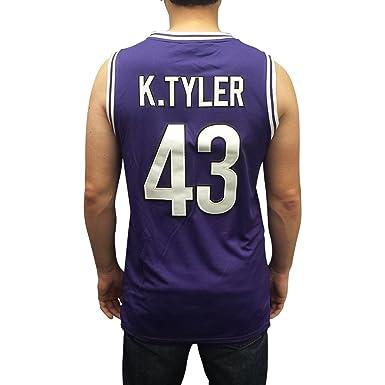 Kenny Tyler  43 Huskies Purple Basketball Jersey The 6th Man Costume Movie  K. 5e84e3e7f