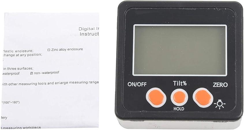 Inclinomètre numérique rapporteur électronique coque en alliage d/'aluminium