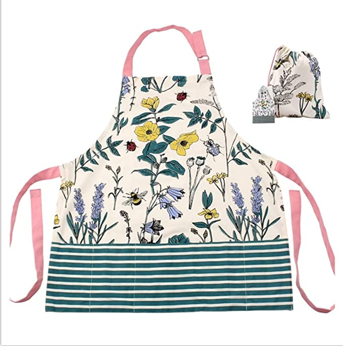 Two's Company Gardeners Apron in Gift Pouch