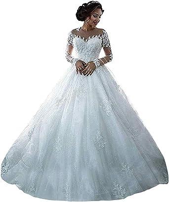 Onlyfine Women S Vintage Elegant Off Shoulder Ball Gowns Wedding