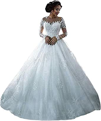 Onlyfine Women S Vintage Elegant Off Shoulder Ball Gowns Wedding