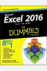 Excel 2016 All-In-One For Dummies Paperback
