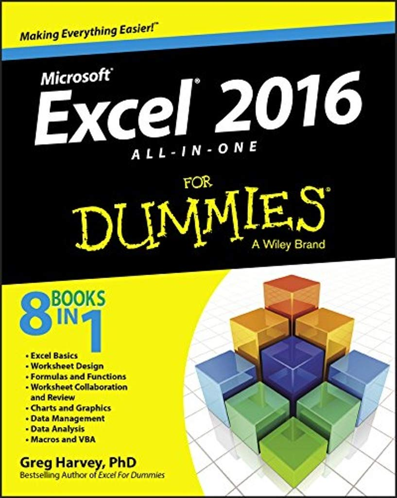 Excel 20 All In One For Dummies For Dummies Computer/Tech ...