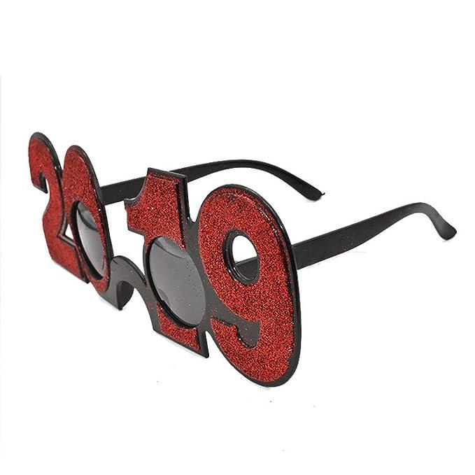 Amazon.com: Gafas de sol divertidas con marco redondo para ...