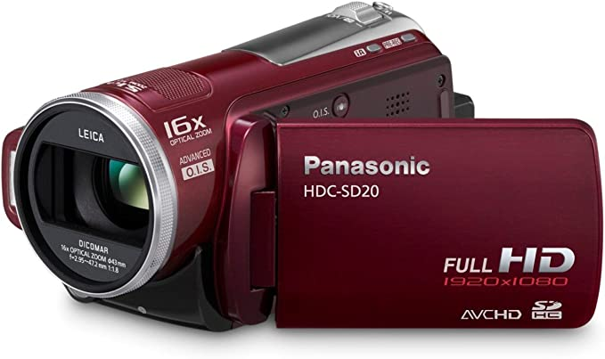 Panasonic HDC-SD20-R product image 10