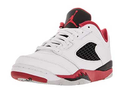 f088184b0485e Amazon.com | Nike Boy's Jordan 5 Retro Low Basketball Shoe | Basketball