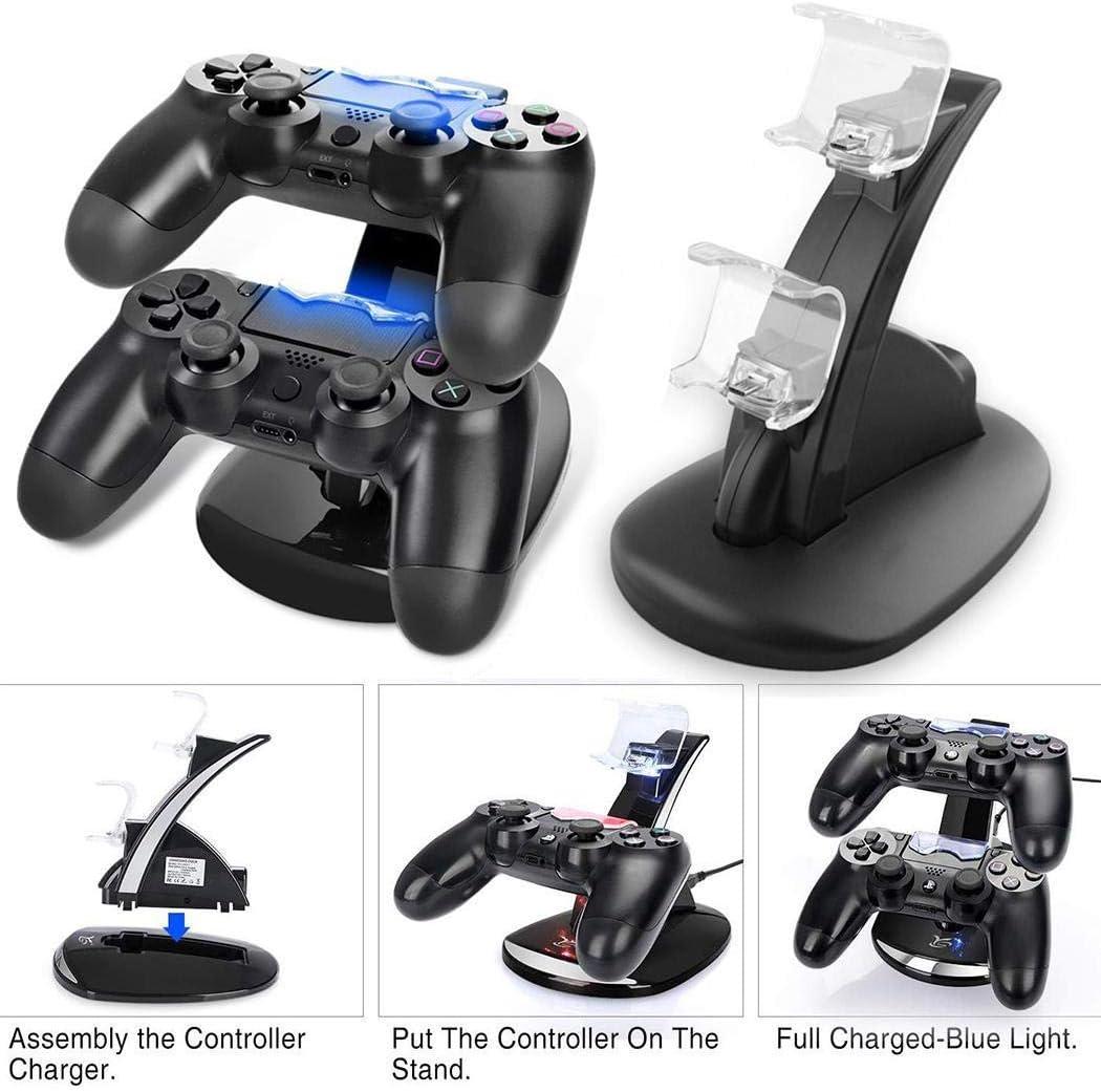 Soporte de carga USB Kloius para mandos de PS4 por sólo 8,79€ con el #código: F8QIZTJA