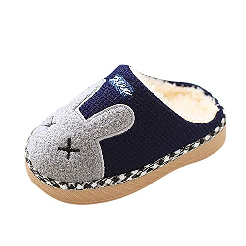 Zapatillas de Estar por casa Invierno para Niños Niñas PAOLIAN Botas de Nieve Bajos Chanclas Espesar
