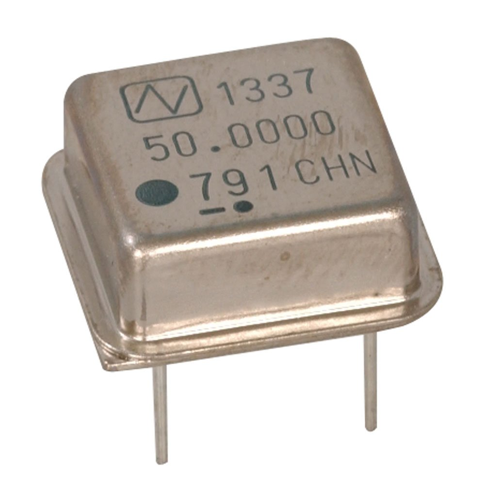 Arndt 1337-50.0000MHZ TTL Oscillator, Half Can, Crystal, 10 Nano Seconds, 70 mA, 50.0 MHz (Pack of 10)