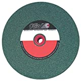 CGW-CAMEL 35007 Bench And Pedestal Green Silicon Carbide Grinding Wheel - Size: 6'' x 1/2'' x 1'' - Pack of 2