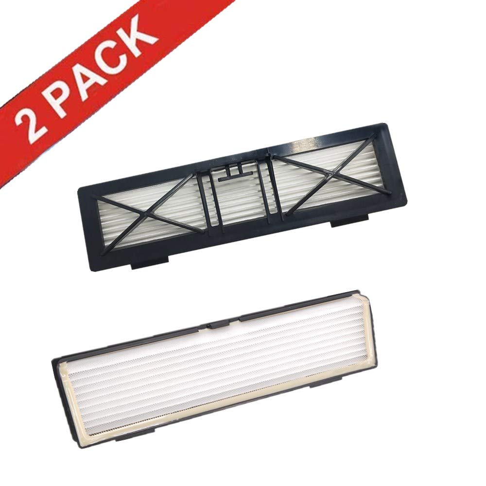 ERT Replacement Neato Botvac Filter Compatible Parts Connected D3 D5 D7, Botvac D Series D75 D80 D85 Ultra Performance Filters and All Botvac Series (2 Pack)