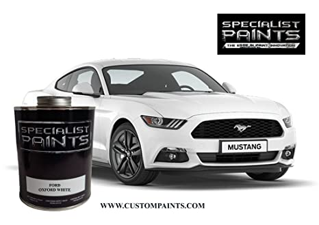 Amazon Com Kustom Canz Ford Oxford White Pint Kit Paint Code Z1