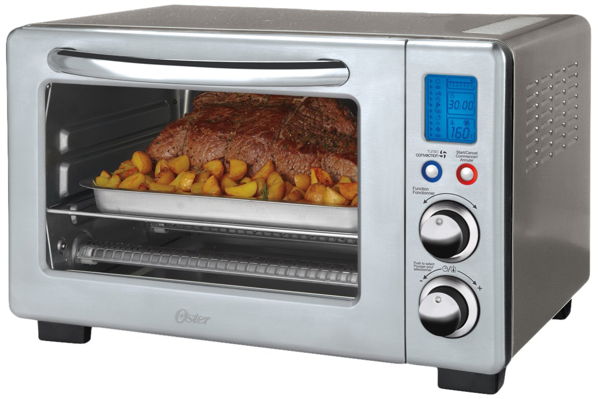Oster 6-Slice Digital Countertop Oven with Convection, TSSTTVDGSS-033