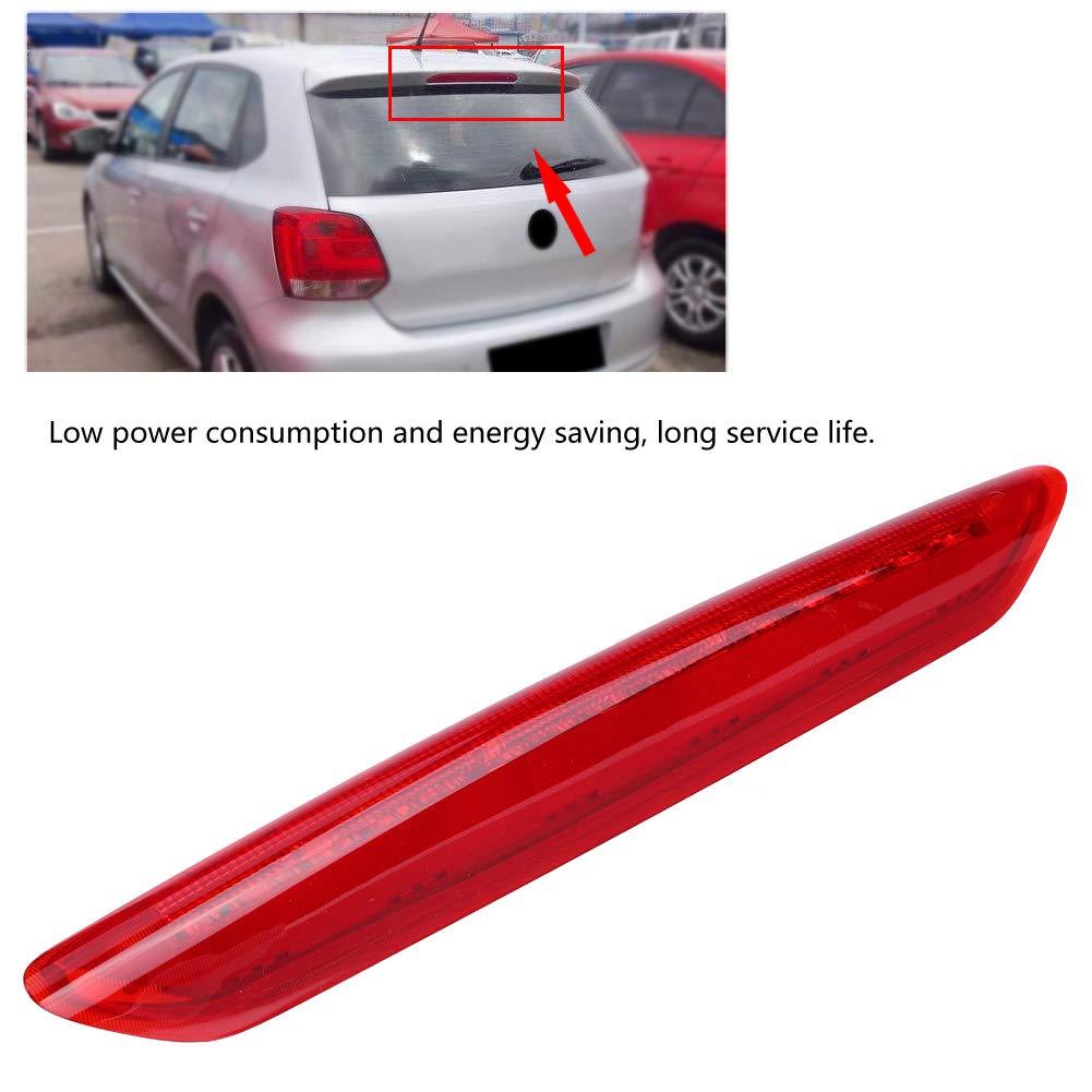 Haut feu de freinage de Voiture Haut feu de Stop /à LED pour feu de Camp pour Polo 9N 2002-2010 Rouge 6Q6945097