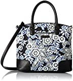 Vera Bradley Day Off Satchel, Snow Lotus