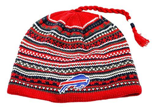 ピンチ傷つきやすいクールNFL Licensedニットタッセルビーニー帽子蓋キャップ